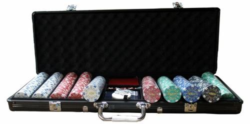 Maletin de fichas de poker