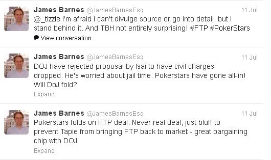 Tweets de James Barnes