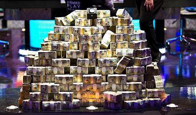 Los 15 millones del ganador.