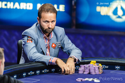 Daniel Negreanu, 2.º en el Big One.