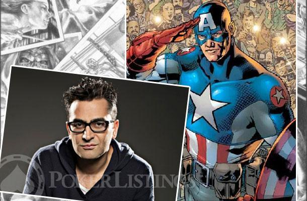 Antonio Esfandiari se parece al Capitán América.
