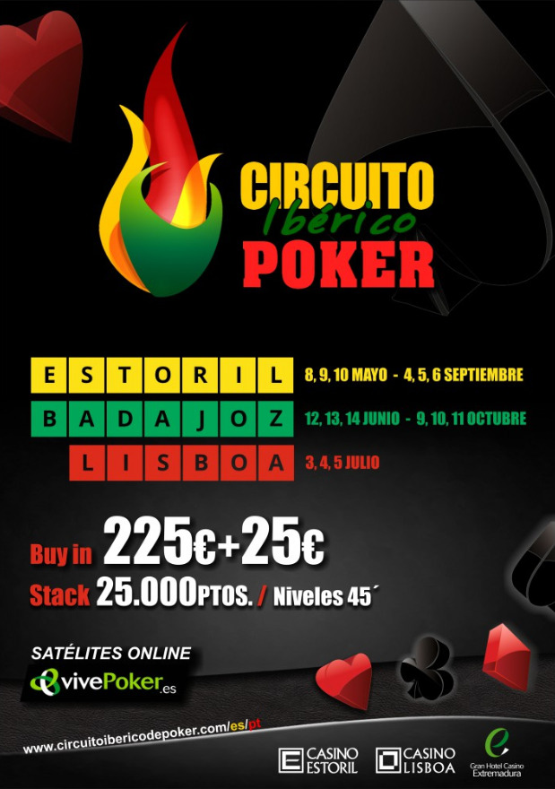 Cartel del Circuito Ibérico de Poker