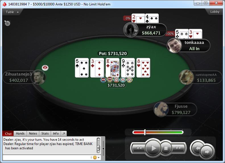Poker oesd