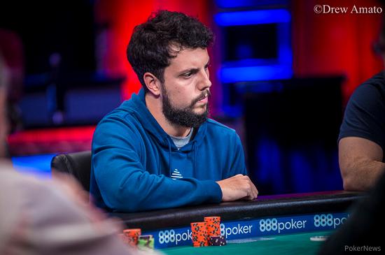 Sergio Cabrera, en la FT [Foto: WSOP-PokerNews]