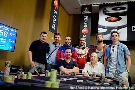 Mesa final del PokerStars National Championship.