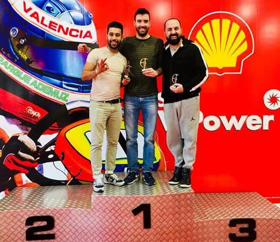 Guillem Casas ganó el Karting indoor.