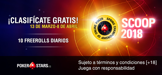 SCOOP 2018 de PokerStars.es