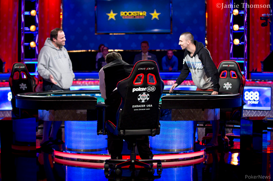 David vs Jeremy en el HU [WSOP-PokerNews]