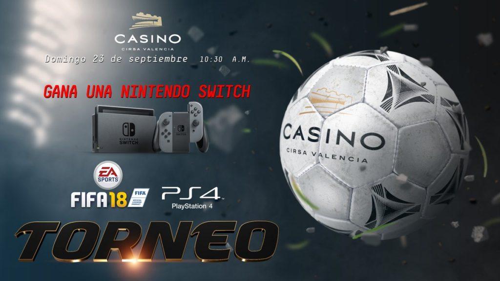 Torneo Fifa 2018 de Casino Cirsa Valencia.
