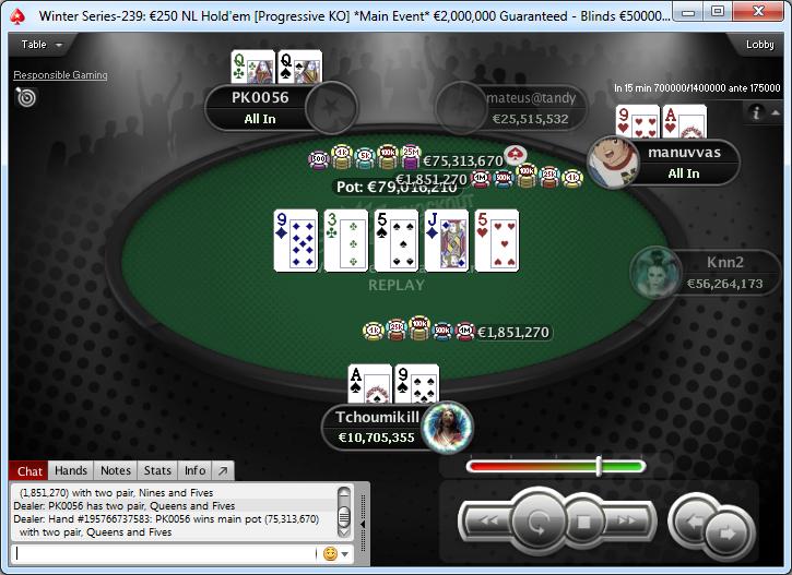 Mano curiosa de la FT del ME de las Winter Series de PokerStars.frespt