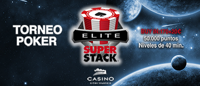 SuperStack en Casino Cirsa Valencia