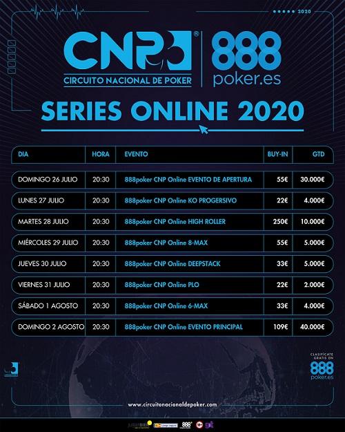 Programa del CNP888 Online.