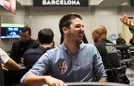 Adrián Mateos, en Barcelona [Foto: N. Stoddart]