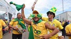 Brasil sigue dominando en el Estadio de PS