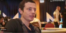 Tom Dwan, durante la entrevista