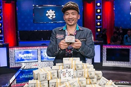 Qui Nguyen, ganador de las WSOP 2016 [Foto: WSOP]
