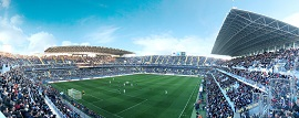 Su estadio favorito, la Rosaleda