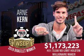 Primer éxito internacional para Kern (WSOP)