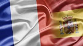 España pudo ayer con Francia