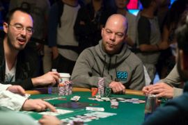Keating, sufriendo a Kassouf (Pokerlistings)
