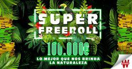 Super Freeroll de 100.000€