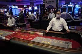 Las mascarillas vuelven a a los casinos de LV