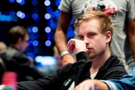 Blom pensando en récords (Foto: Pokernews)