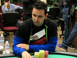 Sergio, en el WPT que no cuadró (Foto: Bay101)