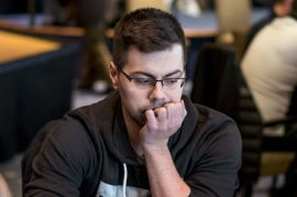 Breixo, uno de los maratonianos (Foto: Pokernews)