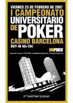 resultados primer torneo universitario poker betfair