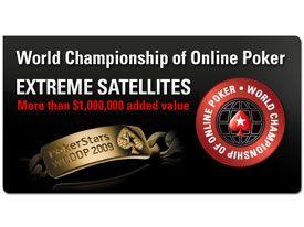 satelites extreme oportunidad muy barata jugar wcoop pokerstars
