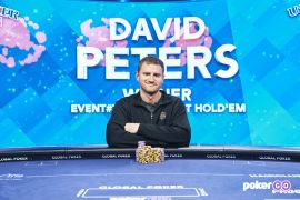 Peters nunca falla en el US Poker Open