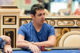 Sergio Aído, en el Venetian de Macau [Foto: PNews]