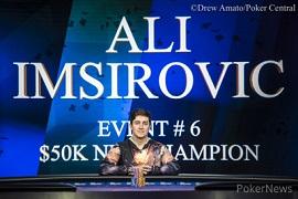 Ali Imsirovic en el Aria [Foto: Drew Amato]