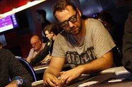 Antonio Candel, chip leader del Día 2