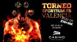 Torneo Sportium.es en Valencia, a partir del 10