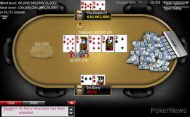 La última mano del Evento #9 (WSOP)