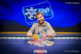 Mira qué carita de felicidad (Foto: Pokernews)