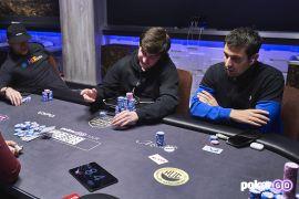Koon, Imsirovic y Aido en la PokerGO Cup