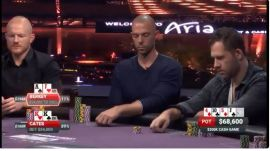 Un momento de la partida (Foto: Poker Central)