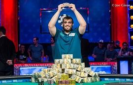 Scott Blumstein ganador del Main Event de las WSOP
