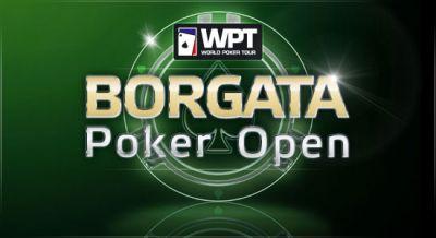 logo borgota poker open