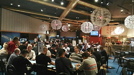 La poker room del Gran Casino Costa Brava