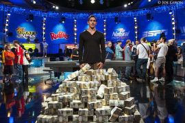 La foto de la discordia en el One Drop. Pokernews