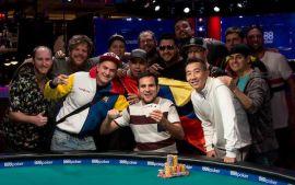 Colombia celebró su primera pulsera (WSOP)