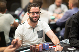 David Lopez [Foto: PokerNews-Carlos Monti]