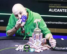 David Molina, ganador de la etapa de las JPS
