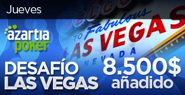 Logo del desafío Las Vegas de Azartia