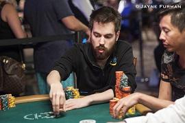Nitsche, en las WSOP [Foto: PokerNews-Furman]