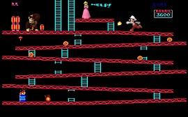 El mítico Donkey Kong